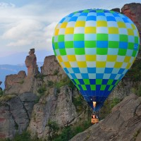 Panoramic balloon lift over the Belogradchik rocks - Booking