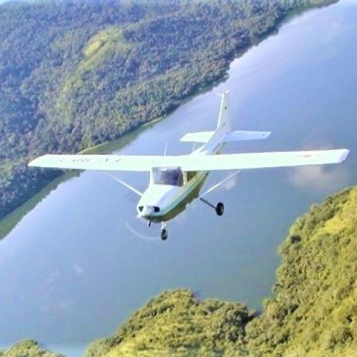 Полет с четириместен самолет от Лесново - Опитен урок
