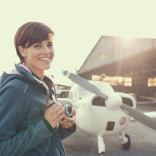 Ваучер за полет със свръх лек самолет - опитен урок