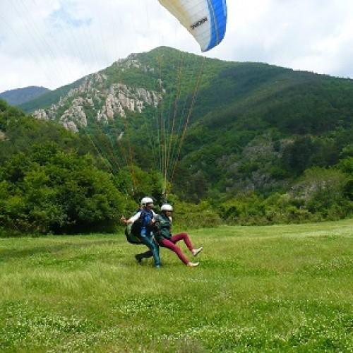 Летене с парапланер над Сопот
