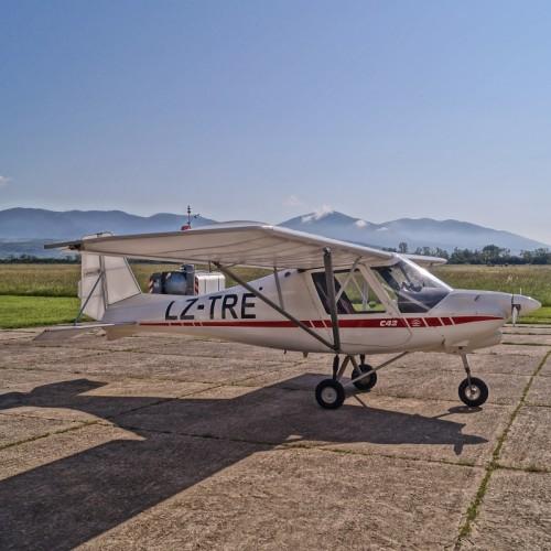Полет със свръхлек самолет
