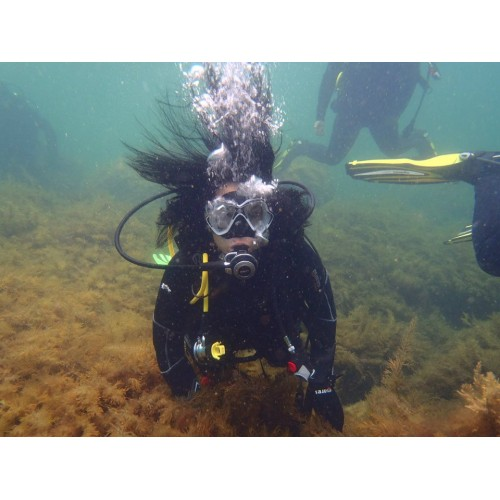 Diving for Тwo in Kiten + Underwater Pictures