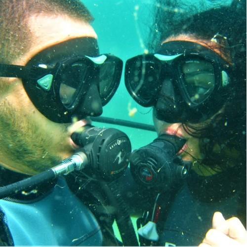 Водолазни гмуркания за двама в Шкорпиловци + подводни снимки