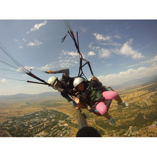 Amazing Аdrenaline Еxperience: Аcrobatic Paragliding Flight + HD Video