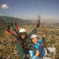Paragliding Flight from Vitosha