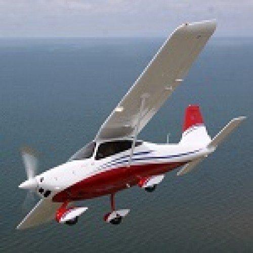 Полет със свръхлек самолет от Лесново