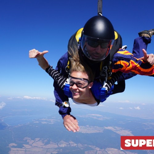 Tandem parachute jump Sevlievo