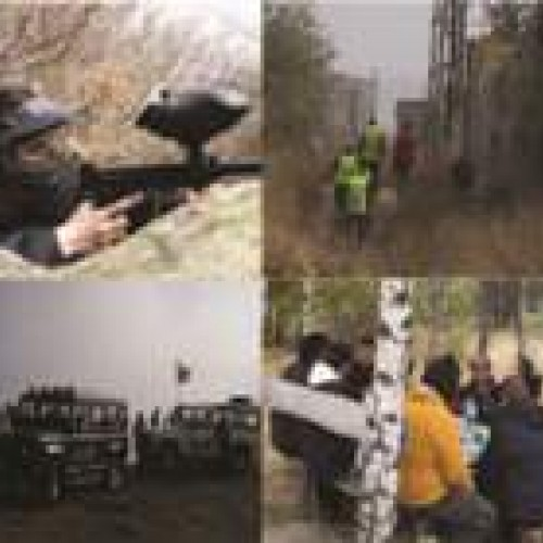 Teambuilding offroad & paintball
