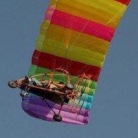 Moto Parglider Flight + HD Video