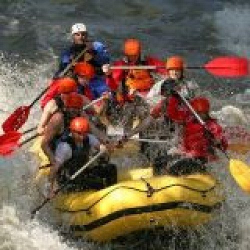 Rafting Down Struma River