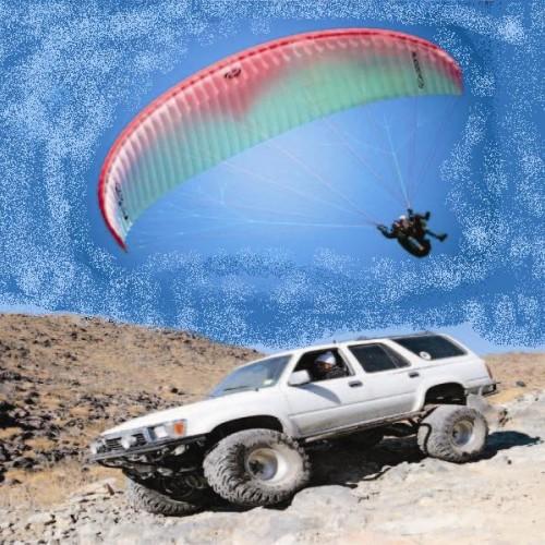 Офроуд приключение и екстремен полет от връх Калин в Рила