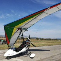 Moto-paragliding