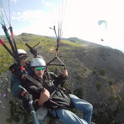Paragliding Flight from Vitosha - panoramic flight with transport